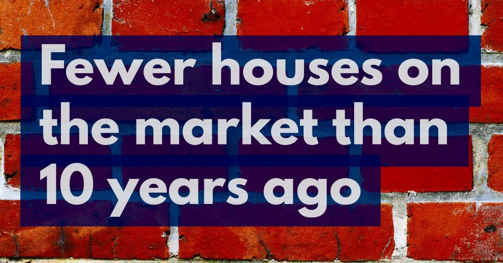59% Drop in Properties For Sale Today in Doncaster Compared to 10 Years Ago