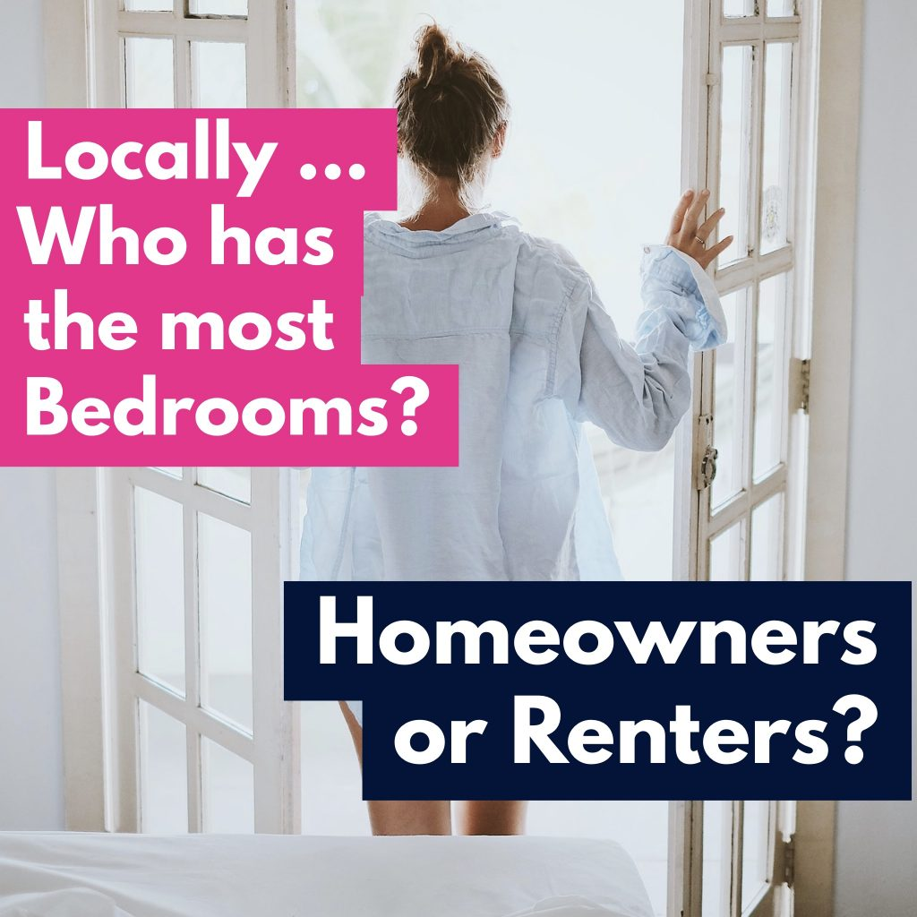 Doncaster Homeowners 74% More Likely To Live in a Home with 3+ Bedrooms than those that Privately Rent