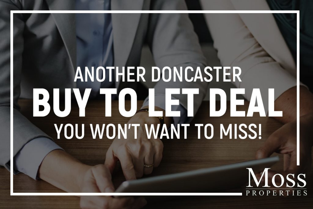 ANOTHER DONCASTER BUY TO LET DEAL YOU WON'T WANT TO MISS!