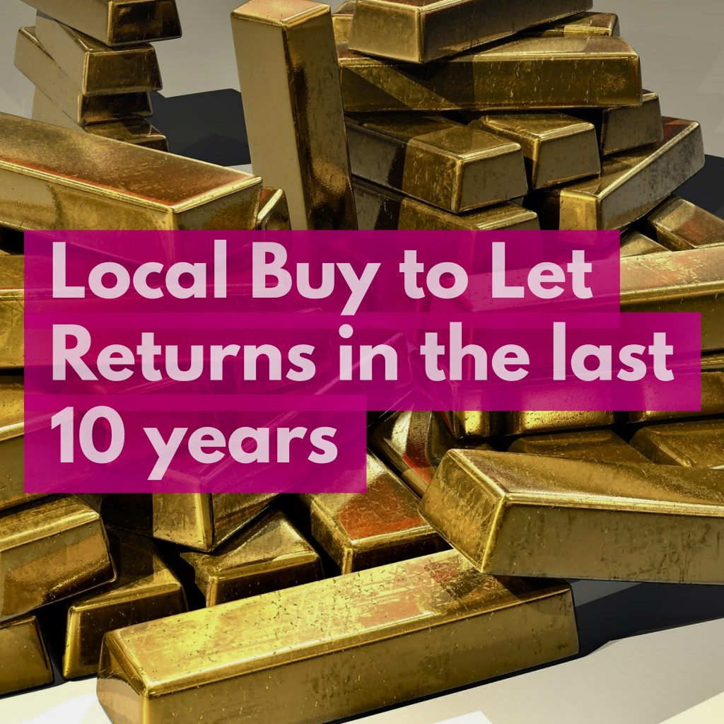 Doncaster Buy To Let Annual  Returns Hit 10.34% in Last 10 Years