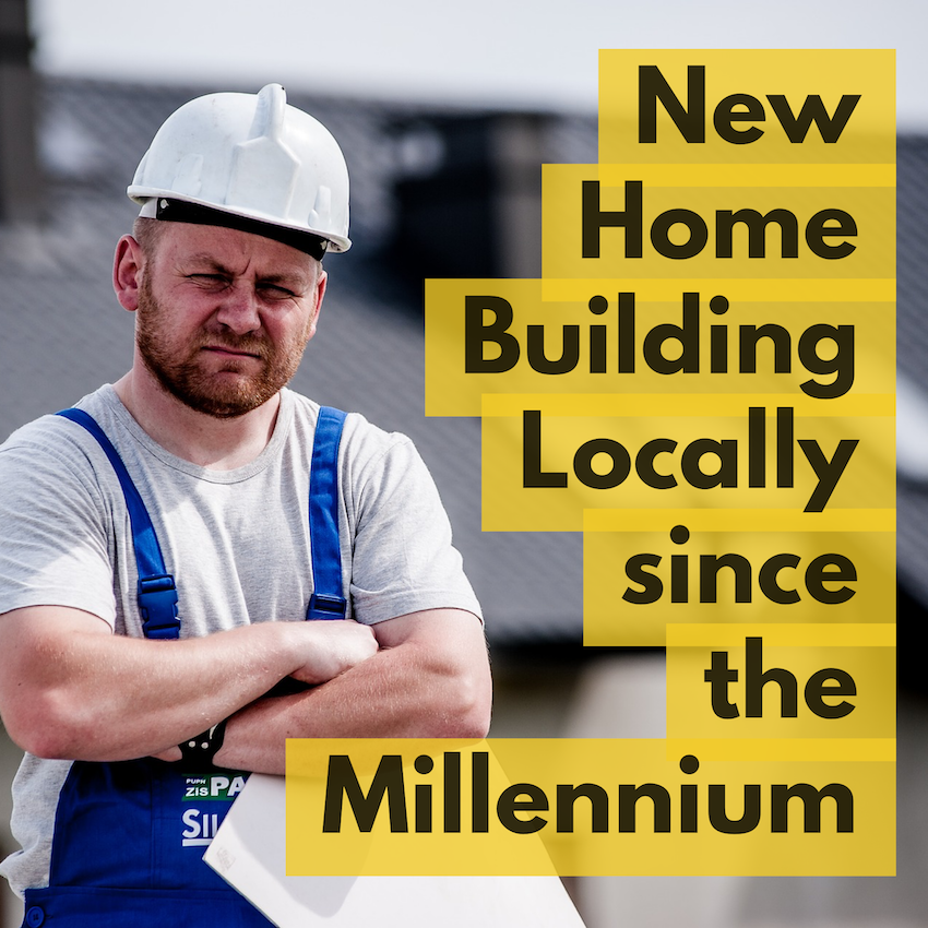 New Home Building in Doncaster 2018 rises to 54.4% above the post Millennium average
