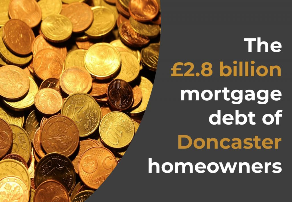 The £2.8 billion mortgage debt of Doncaster homeowners