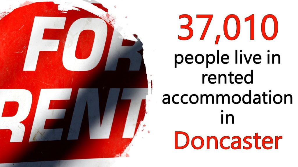 37,010 People Live in Rented Accommodation in Doncaster